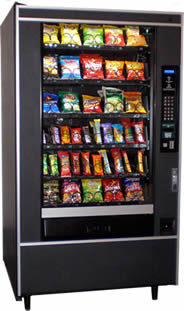 candy snack vending machine for sale - Crane National 158/465
