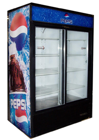 Drink coolers to refrigerate your drinks for sale - True/Bev-Air Double Door Cooler