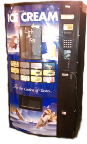 Frozen foods and ice cream vending machine for sale - Fastcorp 820