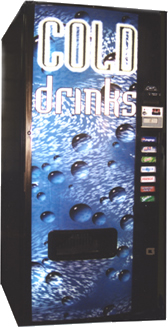 soda vending machine for sale Dixie Narco 276E