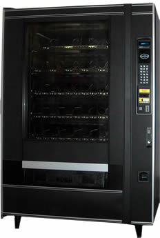Frozen foods and ice cream vending machine for sale - National 455